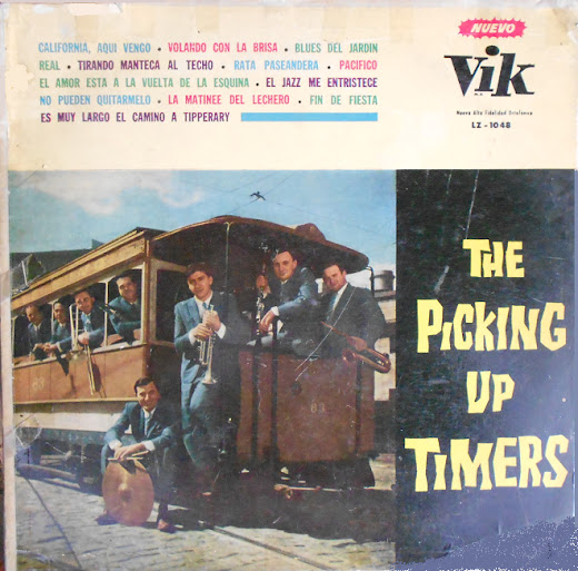 The Picking Up Timers - Idem (1957) Timers+cover