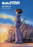 Cartaz da animação japonesa (anime) Nausicaä do Vale do Vento