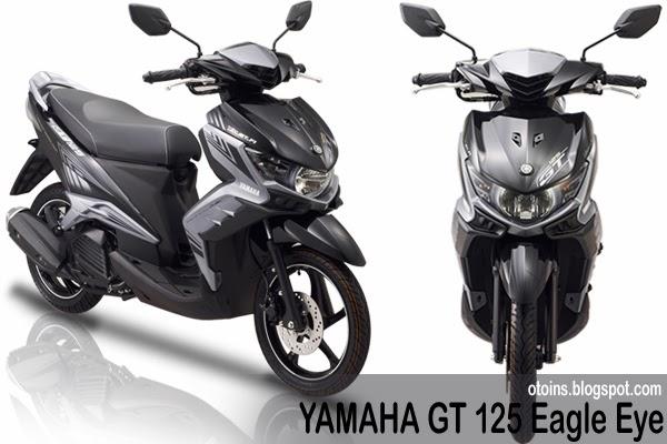 Spesifikasi Dan Harga New Yamaha GT 125 Eagle Eye Terbaru 2014
