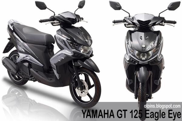 spesifikasi yamaha gt 125 eagle eye dimensi yamaha gt 125 title=