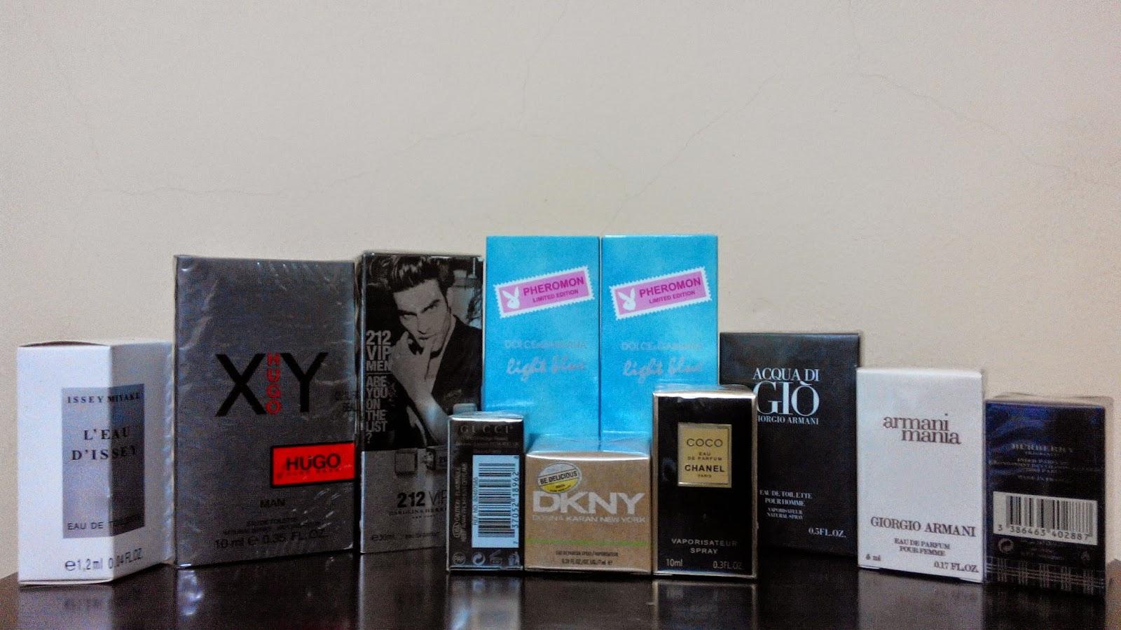 rexylla, perfume, perfume miniature