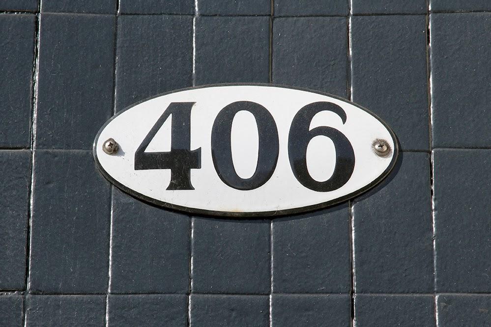 street number 406