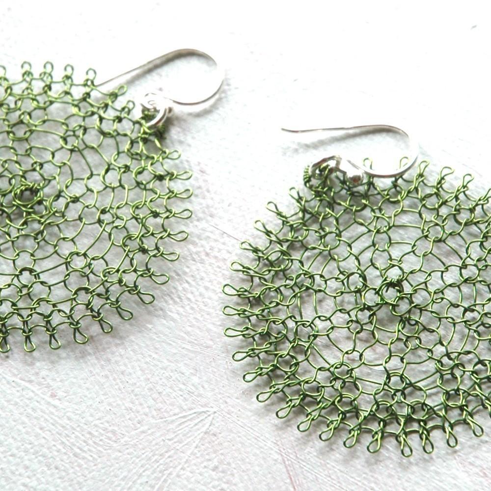 ... Handmade Jewelry: YooLaSunflower, Crocheted Wire Jewelry Tutorial
