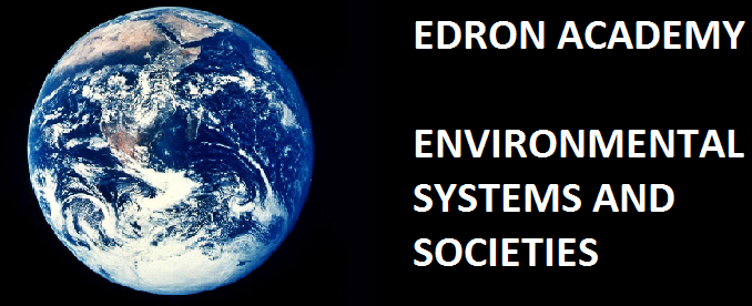 Edron Academy Environmental Systems and Societies