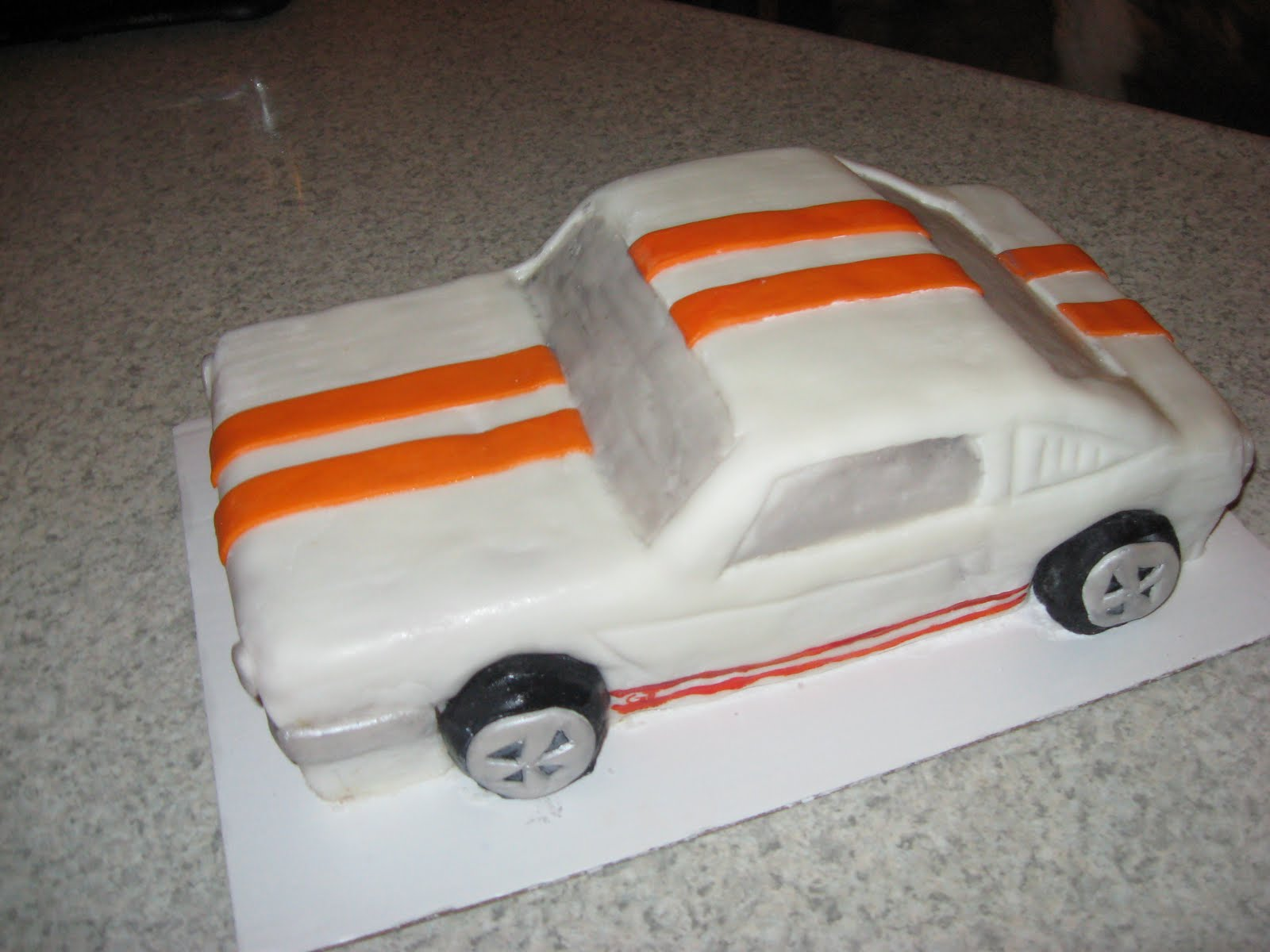 Pin Ford Mustang Shelby Gt500 Eleanor 1967 Cake on Pinterest
