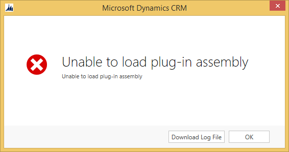 Unable to load Plug-in