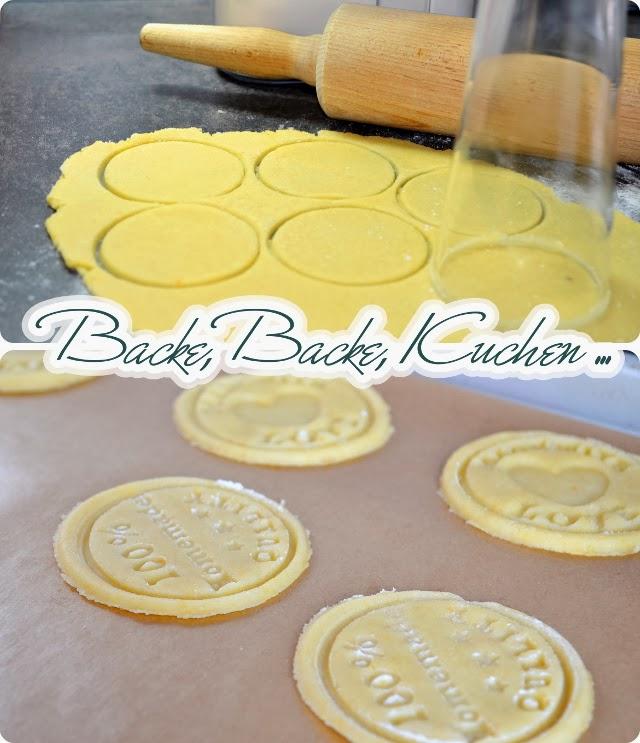 Rezept für Keks-Stempel - Die Zutaten