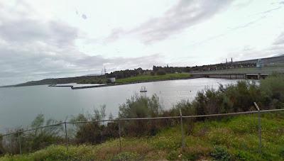 Zona de la presa de Almaraz
