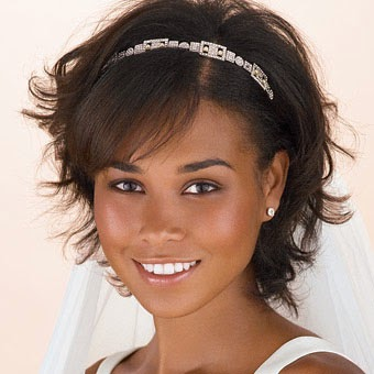 Coiffure mariage cheveux court