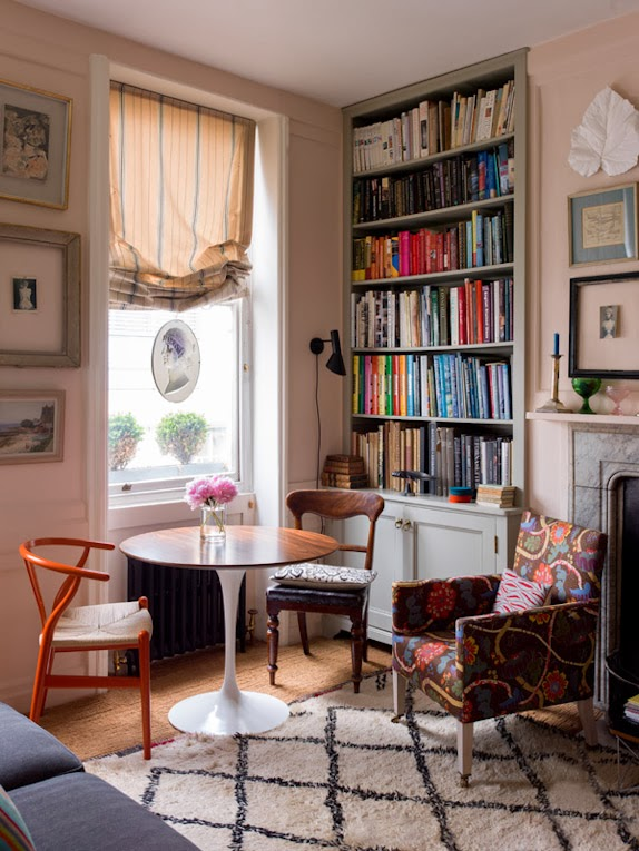 Ben Pentreath London Flat via Meet Me in Philadelphia