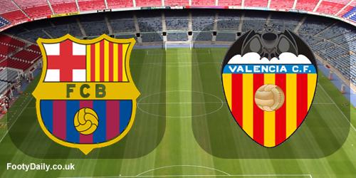 Barcelona vs Valencia Liga BBVA 18-04-2015