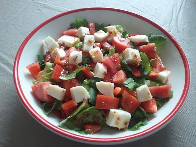 mozzarella cilantro