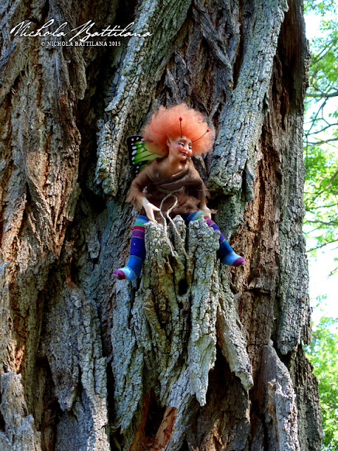 One little pixie sitting in a tree - Nichola Battilana