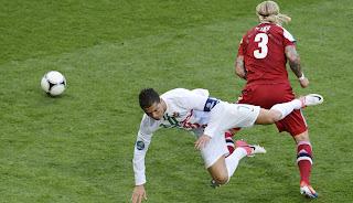 No fue la noche de Cristiano Ronaldo