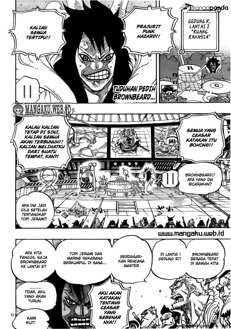 04 One Piece 689   Sebuah Pulau Yang Tak Tampak