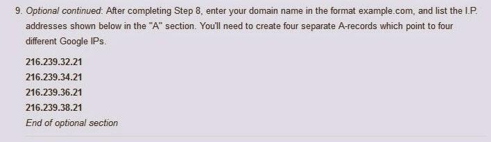 Google ip address