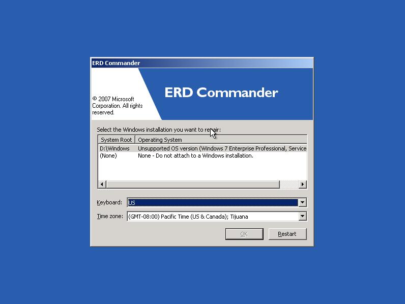 Как сделать загрузочный диск erd commander