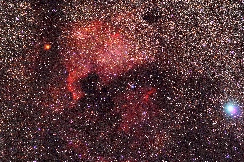 Nebulosa de norteamerica