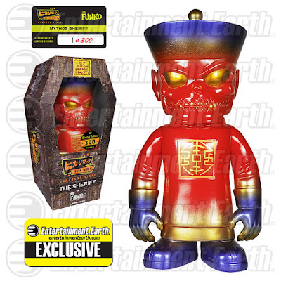 Entertainment Earth Exclusive Jiangshi Hopping Ghost Mythos Sheriff Hikari Sofubi Vinyl Figure by Funko
