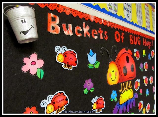 photo of: Bucket Filling Bulletin Board via RainbowsWithinReach