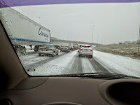 I-565 During Winter Storm Pandora