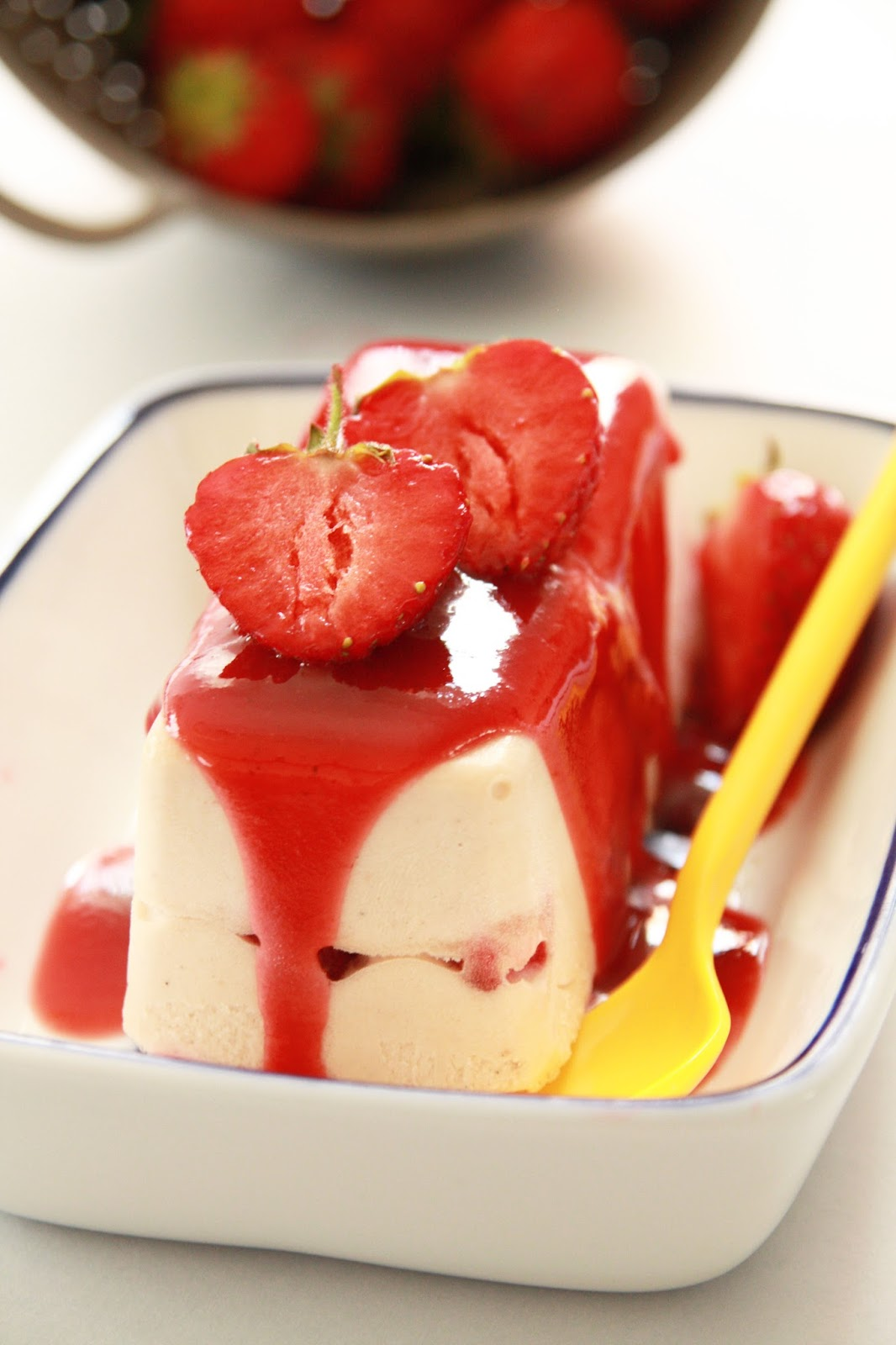 Semifreddo Recipe Strawberry Strawberry Semifreddo Recipe