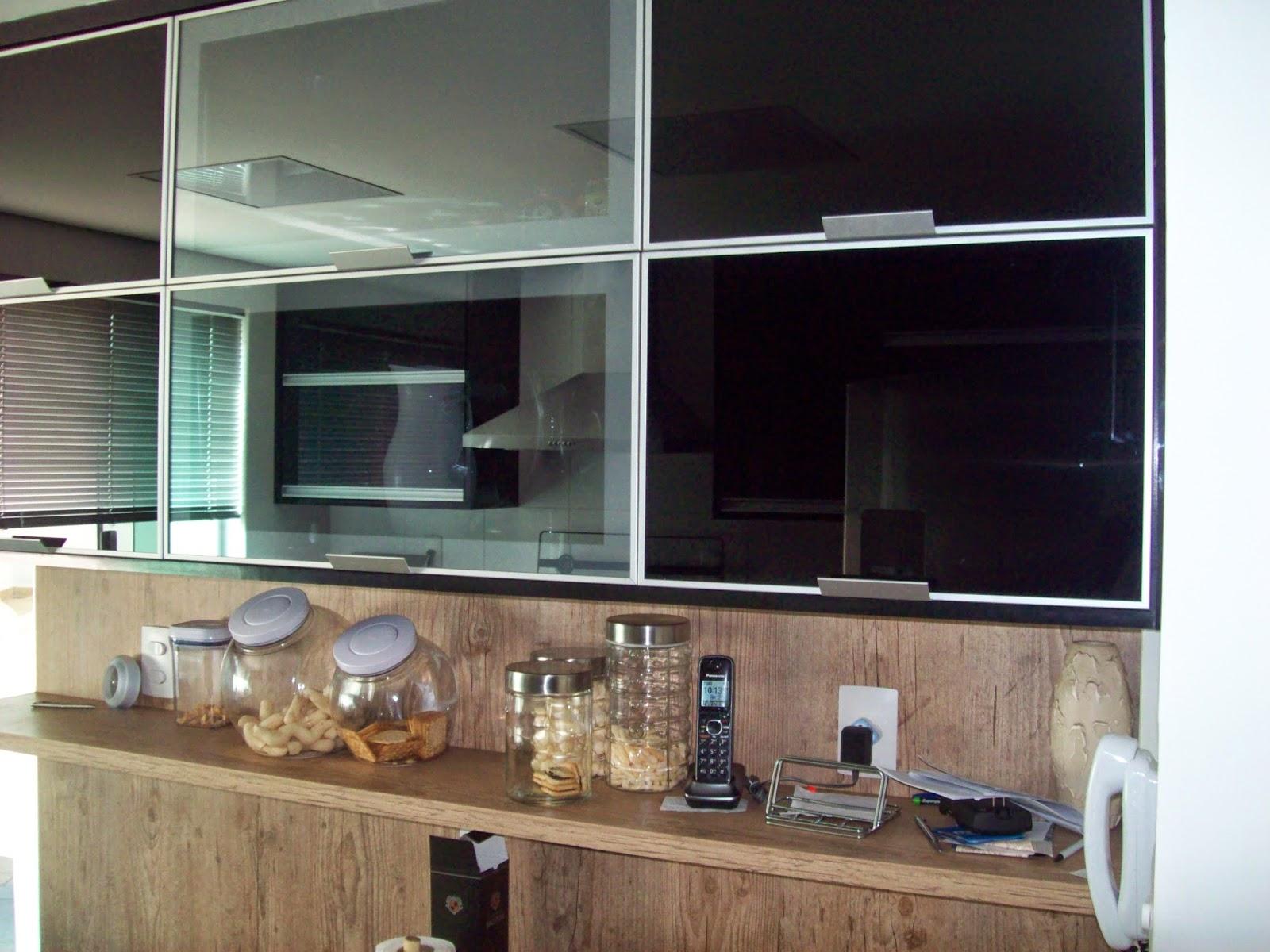 Interforma Móveis Novembro 2014 # Armario De Cozinha Planejado Porta De Vidro