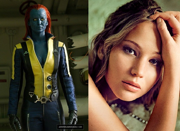 X Men First Class Mystique Jennifer Lawrence