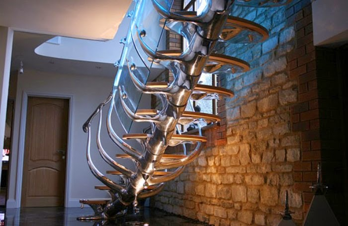 metal stairs design