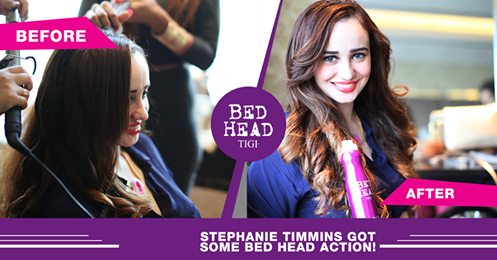 BedHead by TIGI India at Lakme Fashion Week Winter Festive'15, Stephanie Timmins