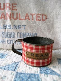 cream cup