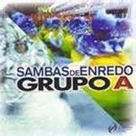 foto da capa do cd sambas de enredo 2000 grupo de acesso