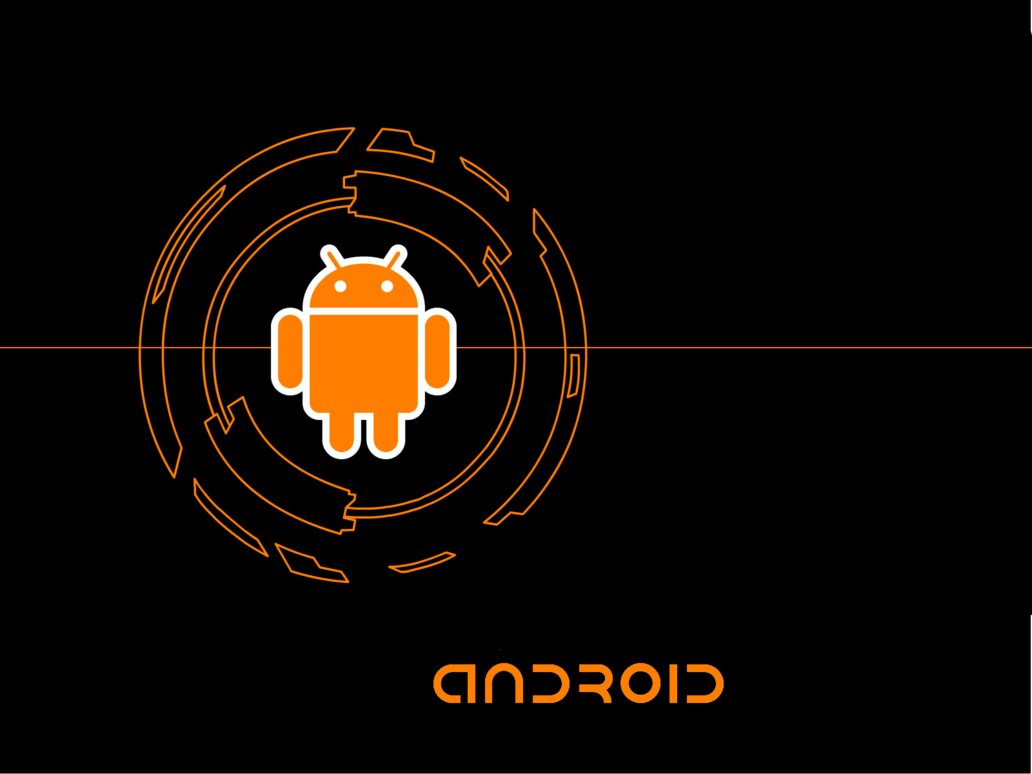 Cool Android Wallpaper Orange