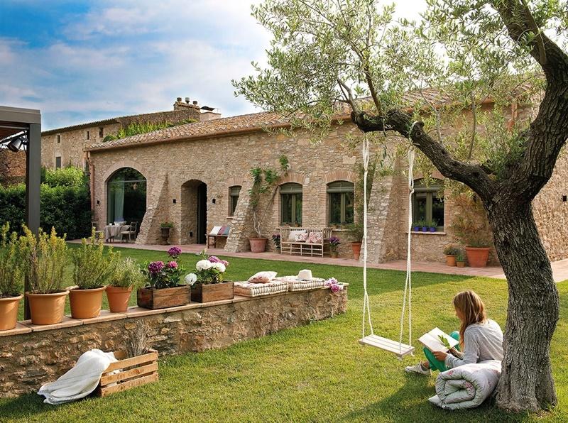 Una bonita casa de campo cocochicdeco for Casas de campo hermosas