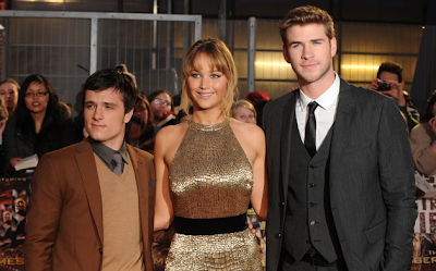 Stars at Hunger Games Premiere Night