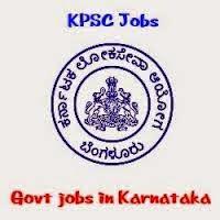 KPSC Recruitment 2014-2015