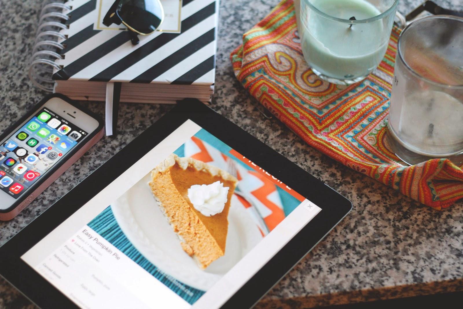 Recipe, Thanksgiving, Pumpkin Pie