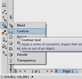 how to adjust kerning in corel draw