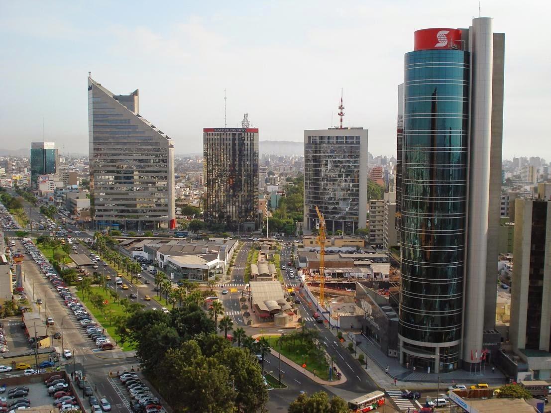 cuidad de Lima en el Peru