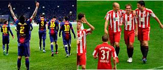 Barcelona vs Bayern 2013