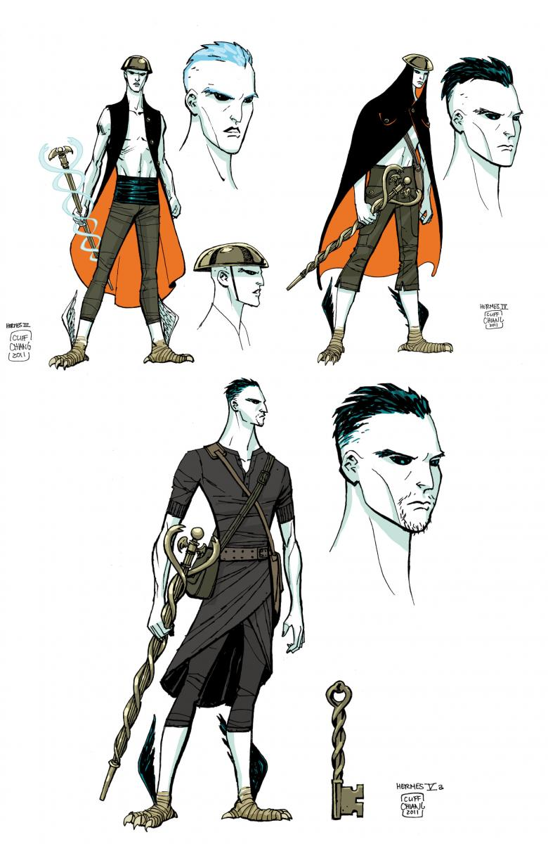 Character Design For Comic Books : Fashion and action wonder woman cliff chiang s new