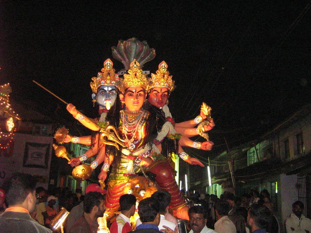 Deviprasad Amemane Madikeri Dasara Sri Chowdeshwari