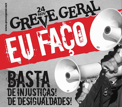 Portugal: GREVE GERAL PROMETE PARAR TRANSPORTES, ESCOLAS E HOSPITAIS