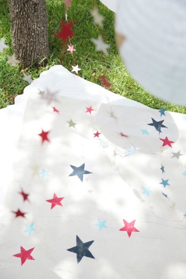 Star Picnic Blanket
