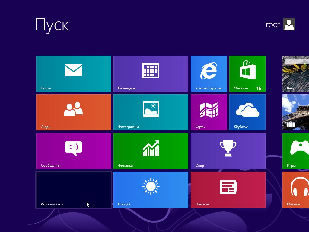 Обновление Windows 8 до Windows 8.1 - Переход на Рабочий стол