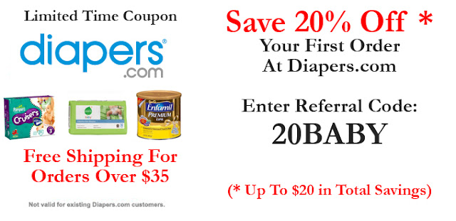 Listed above you'll find some of the best diapers coupons, discounts and promotion codes as ranked by the users of terpiderca.ga To use a coupon simply click the coupon code then enter the code during the store's checkout process.