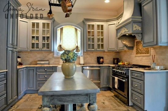 brocante home collection's paintbrush and pearls painting kitchen,Chalk Paint Kitchen Cabinets,Kitchen ideas