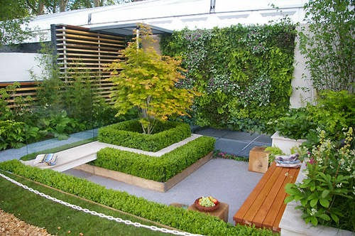 Modern garden design and beautiful garden design armin for Beautiful small garden ideas