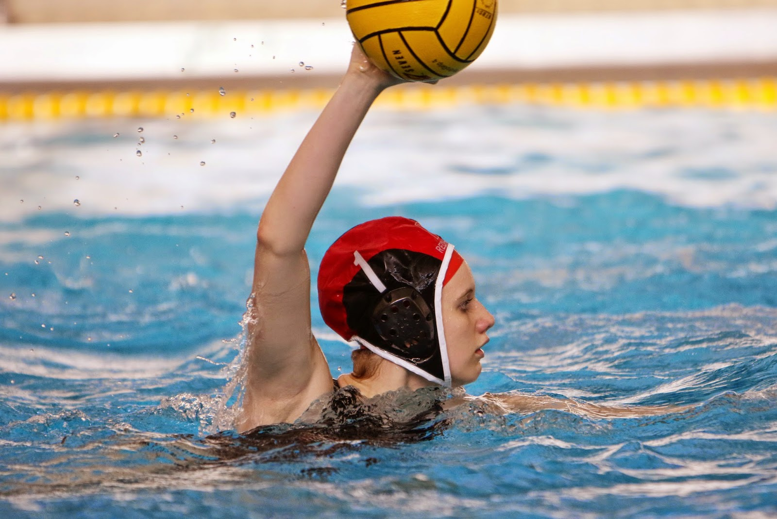 Mark Kodiak Ukena Ihsa Girls Water Polo Quarterfinals