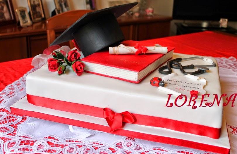 Le Torte Di Lorena E Non Solo Torta Laurea Per